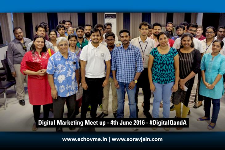 Digital Marketing Meetup