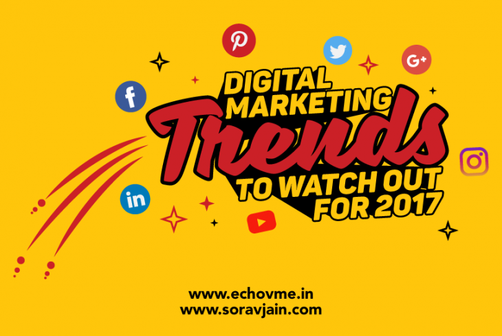 Digital Marketing Trends to Watch Out For 2017