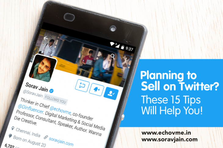 15 Tips for Social Selling on Twitter