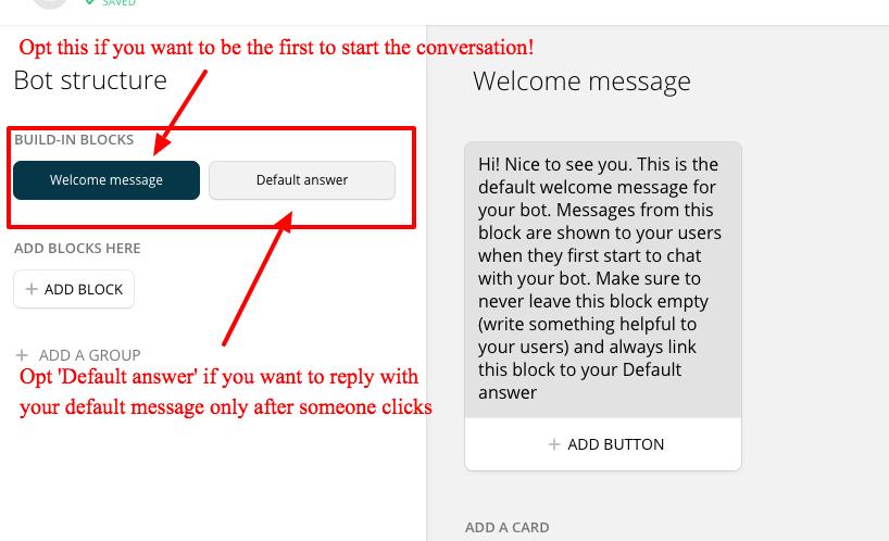 Facebook Messenger Chat Bot Step 3
