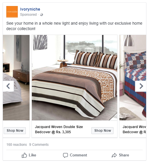 how to create facebook carousel ads
