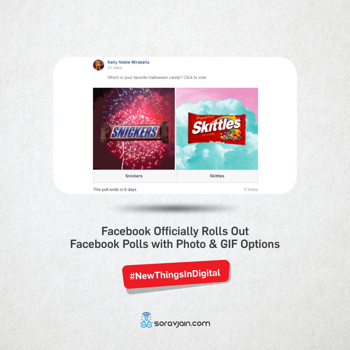 Recent trends in digital marketing digital marketing updates facebook is officially launching facebook polls with the added options of using photos or gifs as answersfacebooks been testing these new polls since at fandeluxe Image collections