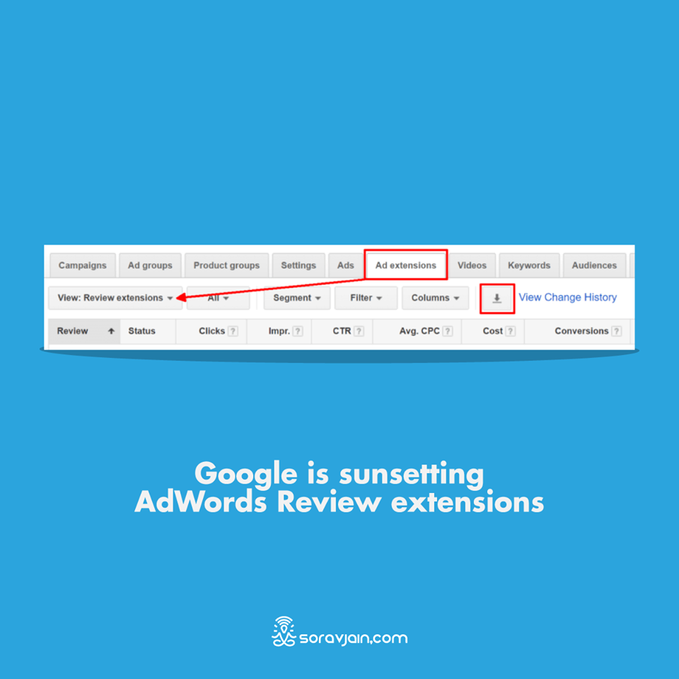 Google is Sunsetting AdWords Review Extensions