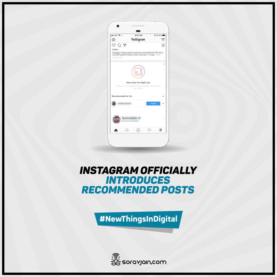 Instagram Officially Introduces Recommended Posts