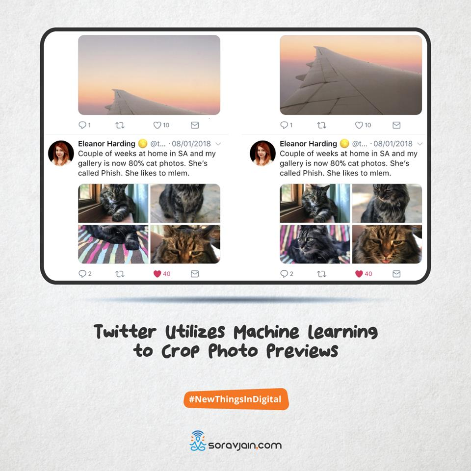 Twitter Utilizes Machine Learning to Crop Photo Previews