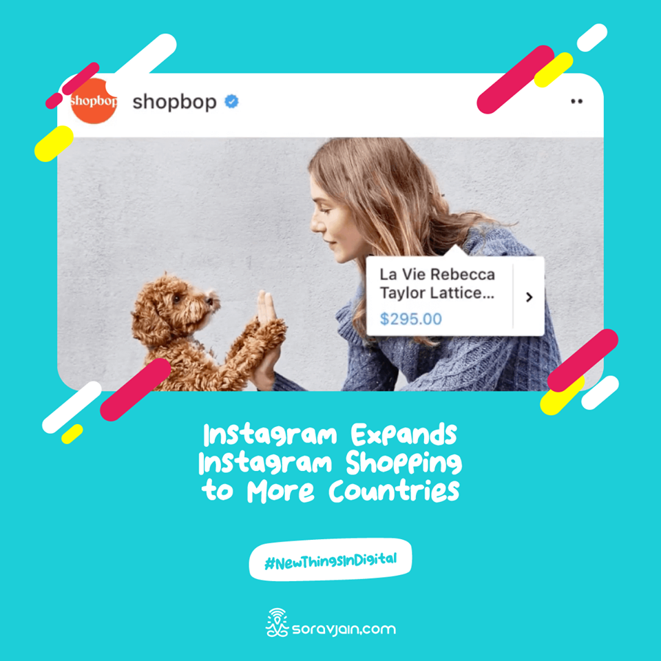 Instagram Expands Instagram Shopping to More Countries