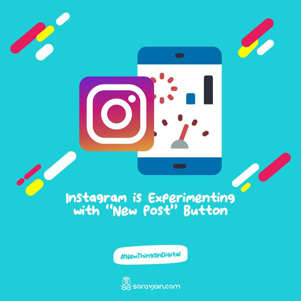 Instagram is Experimenting with New Post Button
