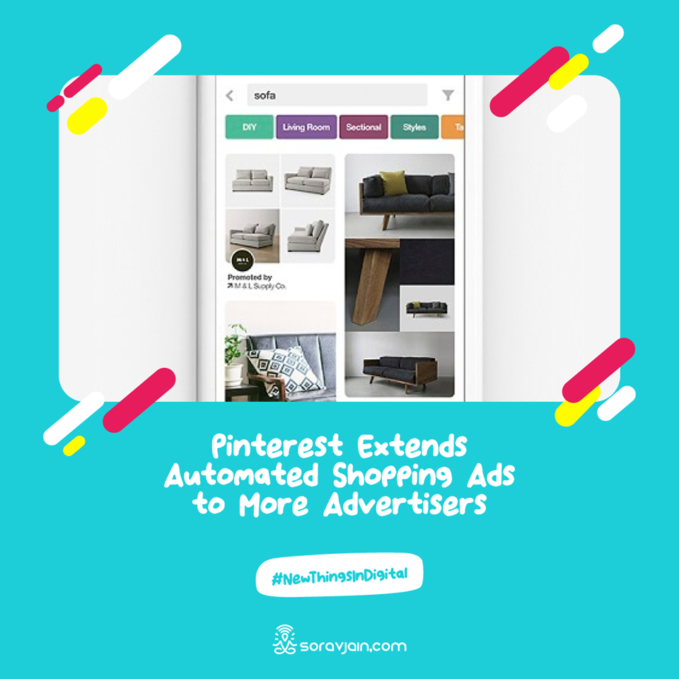 Pinterest Extends Automated Shopping Ads to More Advertisers