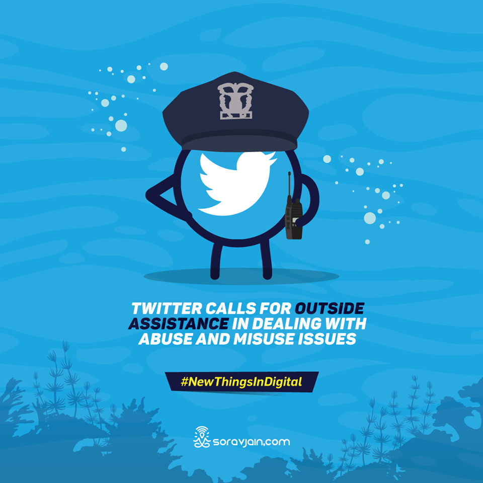 Twitter Calls for Outside Assistance in Dealing with Abuse and Misuse Issues