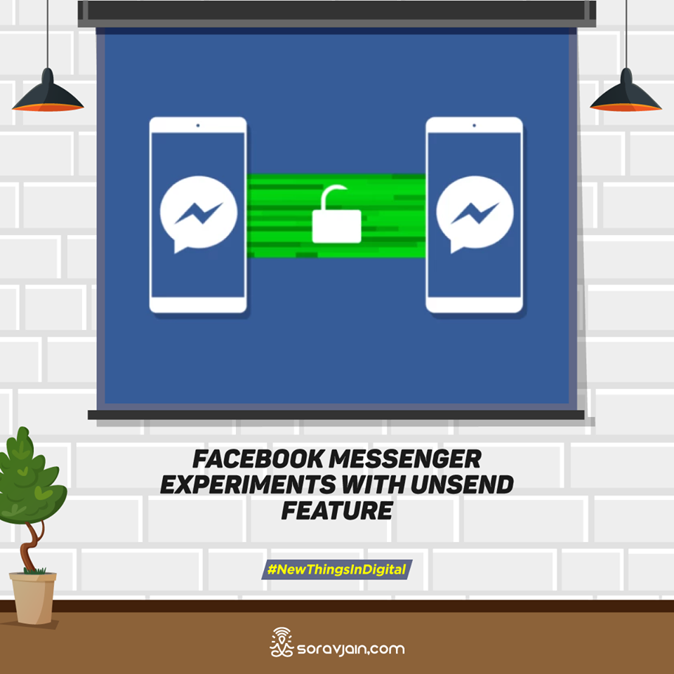 Facebook Messenger Experiments With Unsend Feature