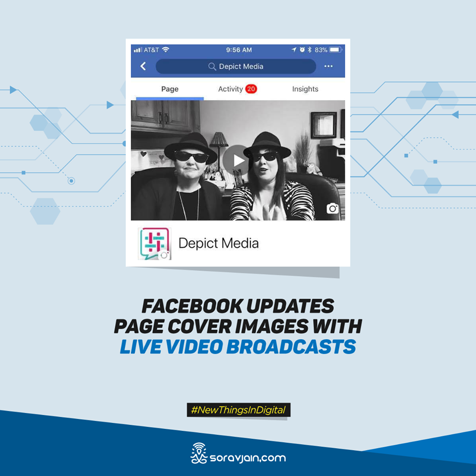 Facebook Updates Page Cover Images With Live Video Broadcasts