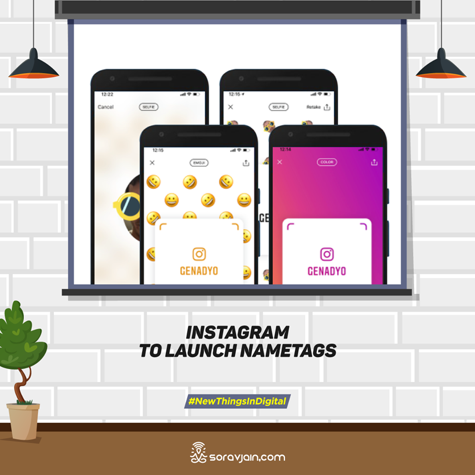 Instagram to Launch Nametags