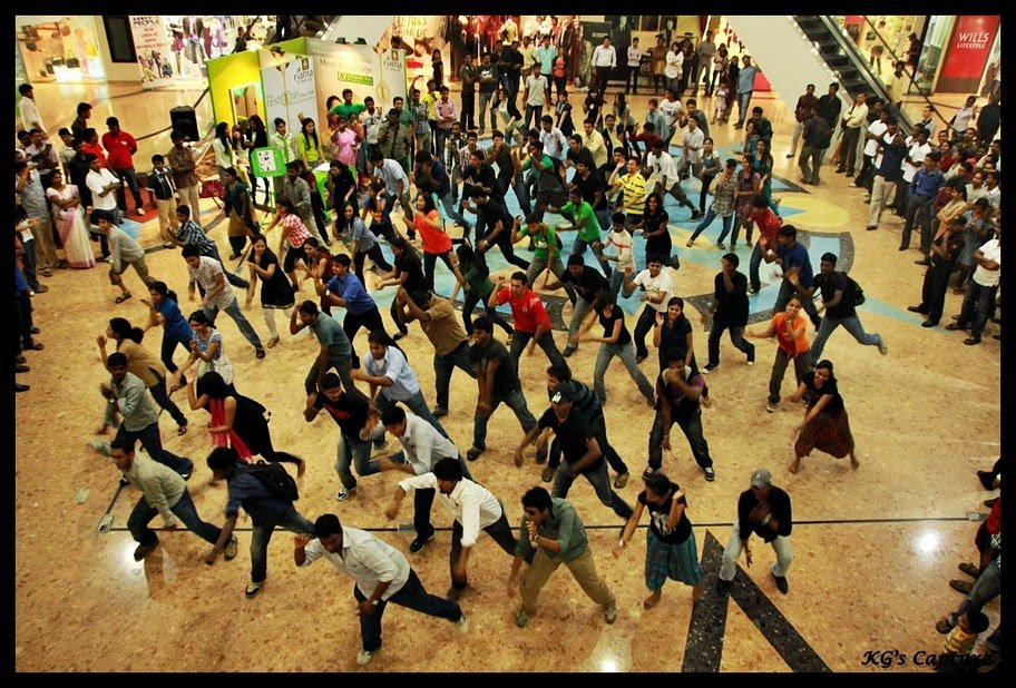 Chennai Flash Mob Performance