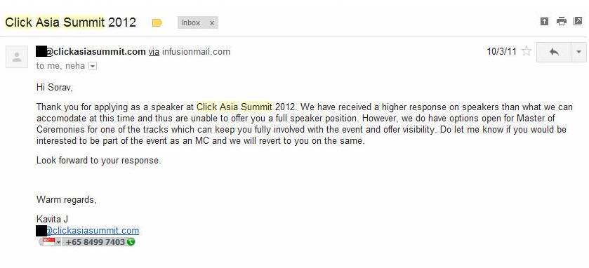 Click asia summit 2012