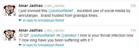 whoo relief- tweet responses