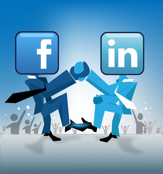 linkedin vs facebook for business