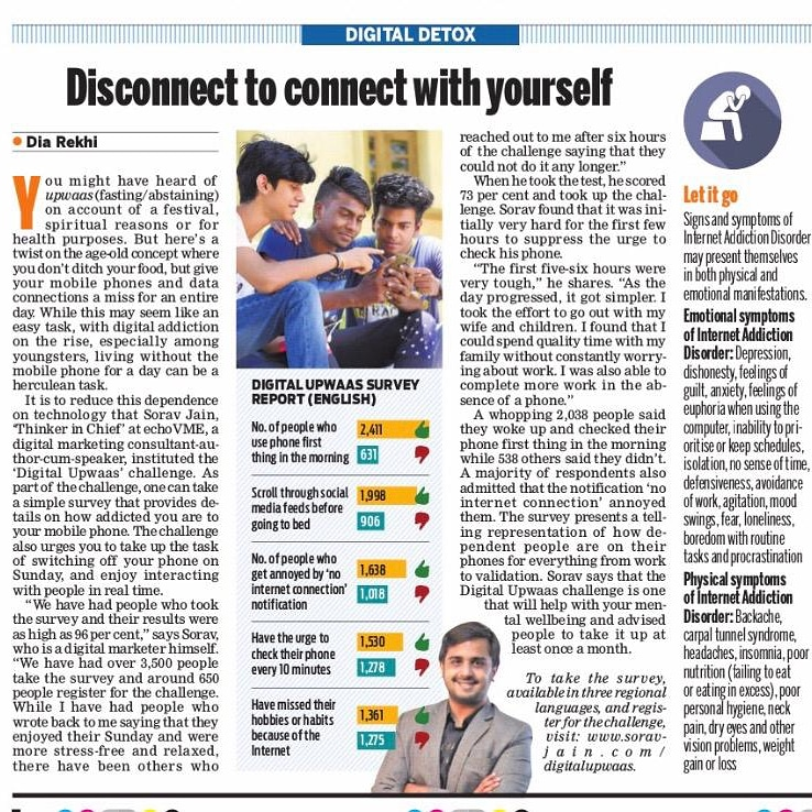 sorav jain on indian express - 13th June 2019
