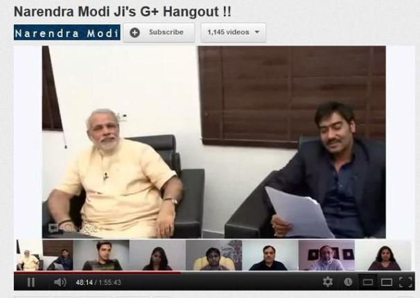 Modi Hangout