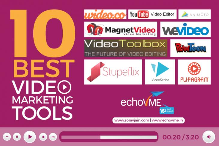 10 Amazing Tools to Kick Start Your Video Marketing