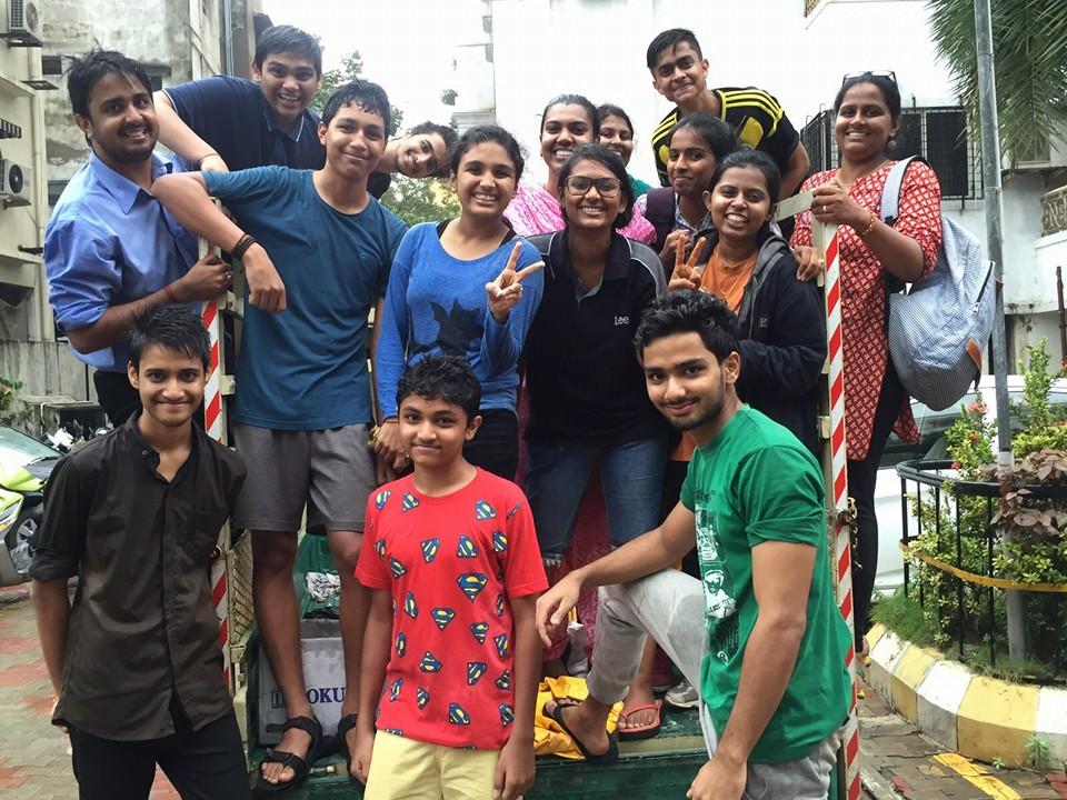 chennai rains volunteer