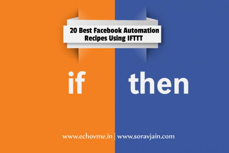 20 Best Facebook Automation Recipes Using IFTTT