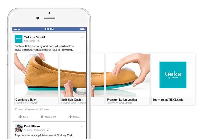 carousal facebook ads