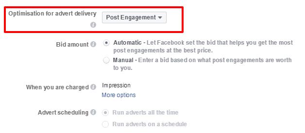 social media boost post