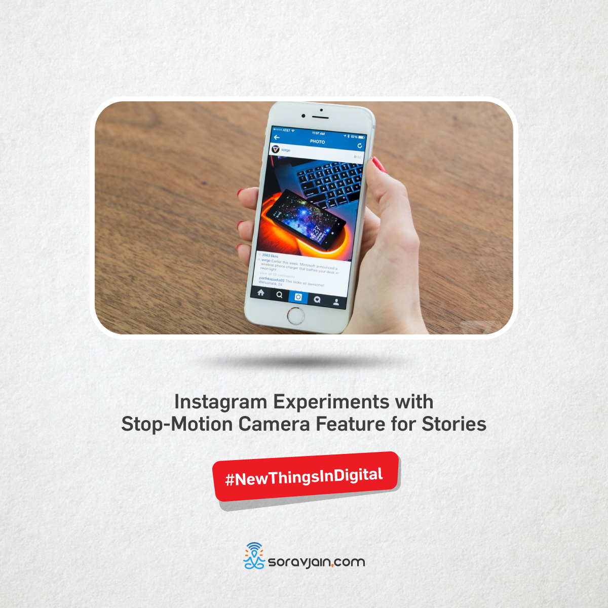 Instagram Experiments with Stop-Motion Camera Feature for Stories