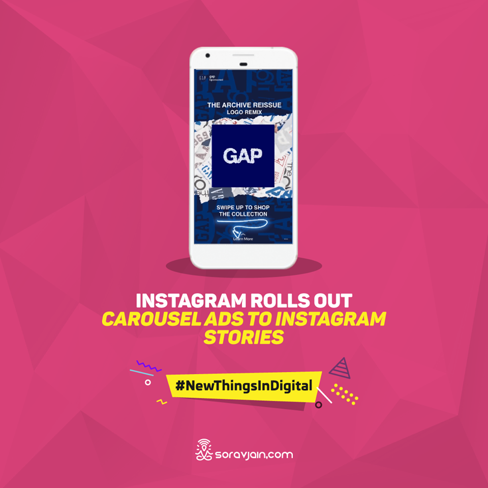 Instagram Rolls Out Carousel Ads to Instagram Stories