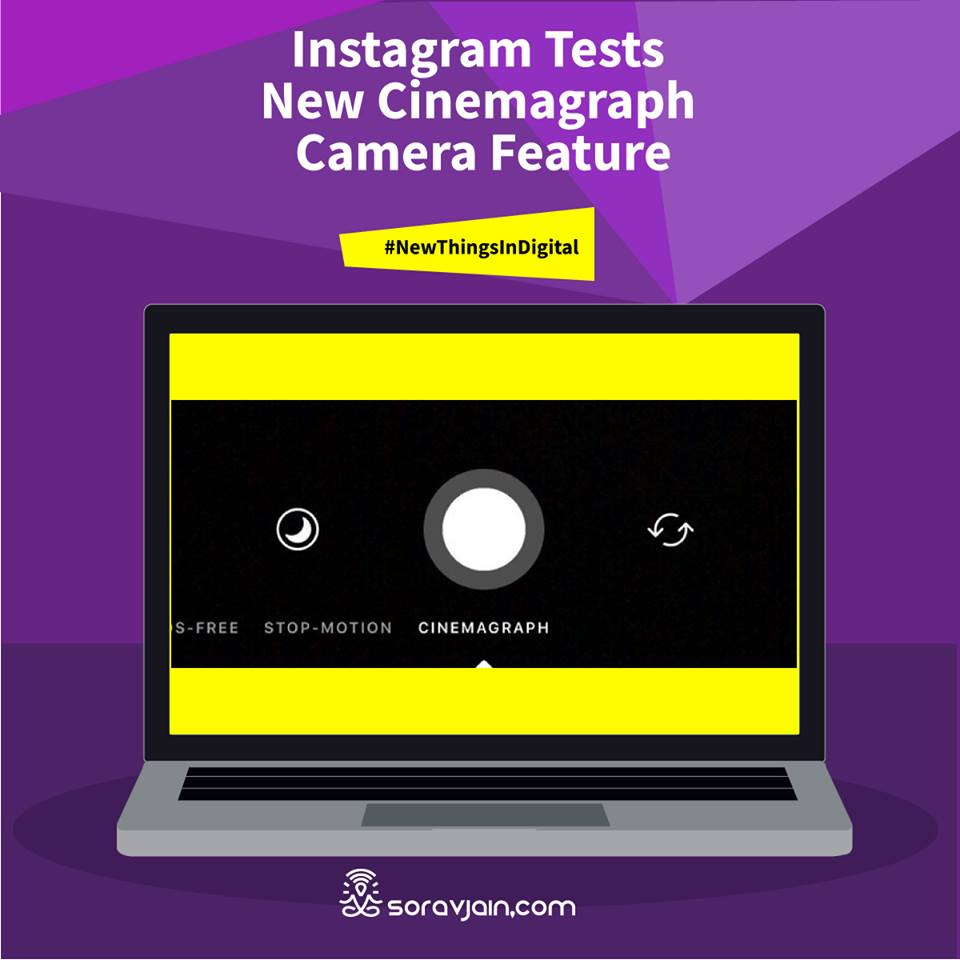 Instagram Tests New Cinemagraph Camera Feature