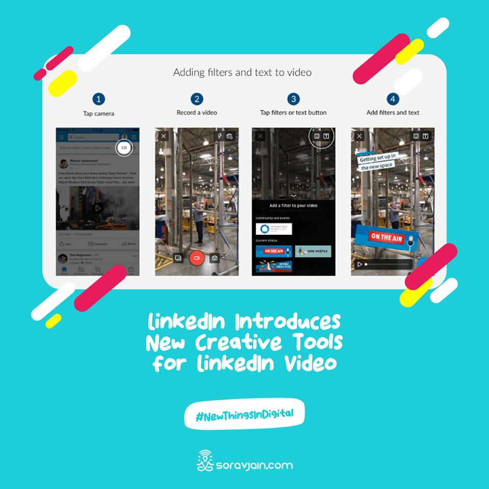 LinkedIn Introduces New Creative Tools for LinkedIn Video