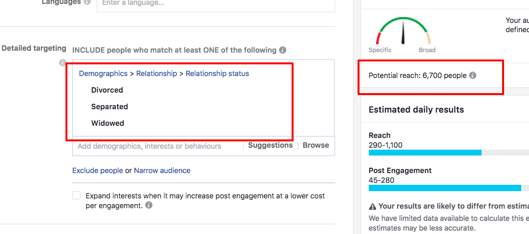 Facebook Engagement Ads