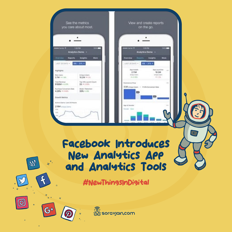 Facebook Introduces New Analytics App and Analytics Tools