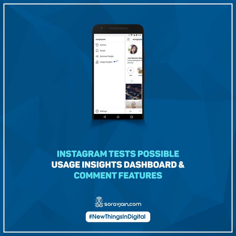 Instagram Tests Possible Usage Insights Dashboard & Comment Features