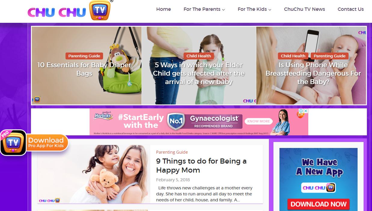 ChuChuTV Parenting Blog