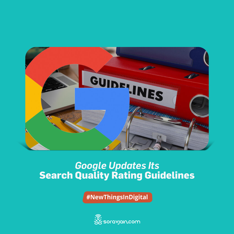 Google updates its search quality rating guidelines