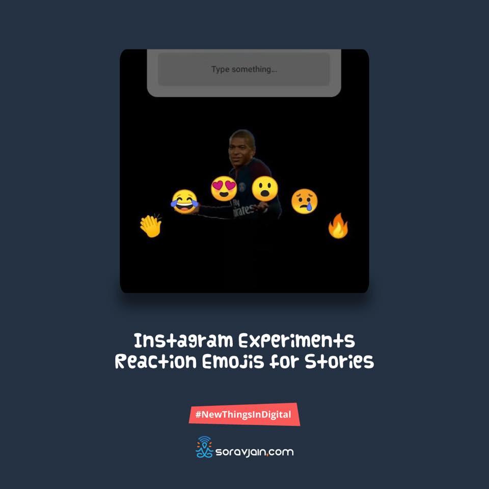 InstagramExperimentsReaction Emojis for Stories