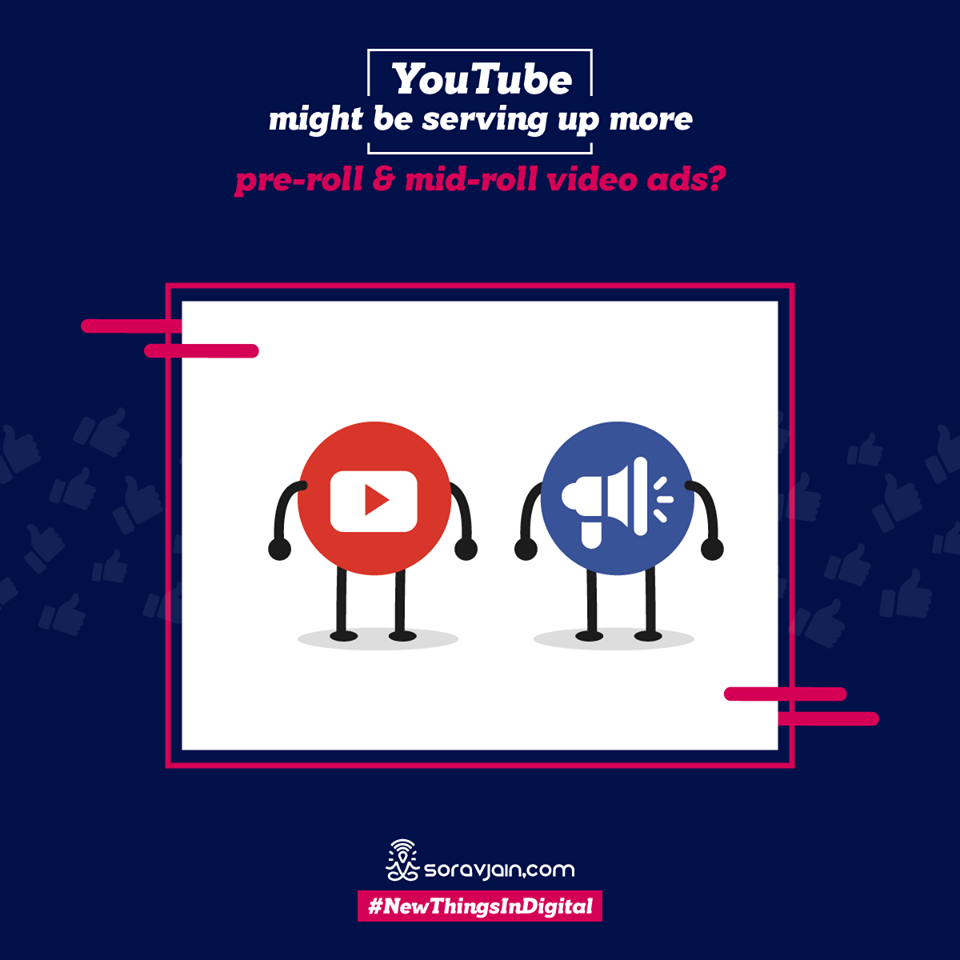YouTube Might be Serving up More Pre-roll & Mid-roll Video Ads