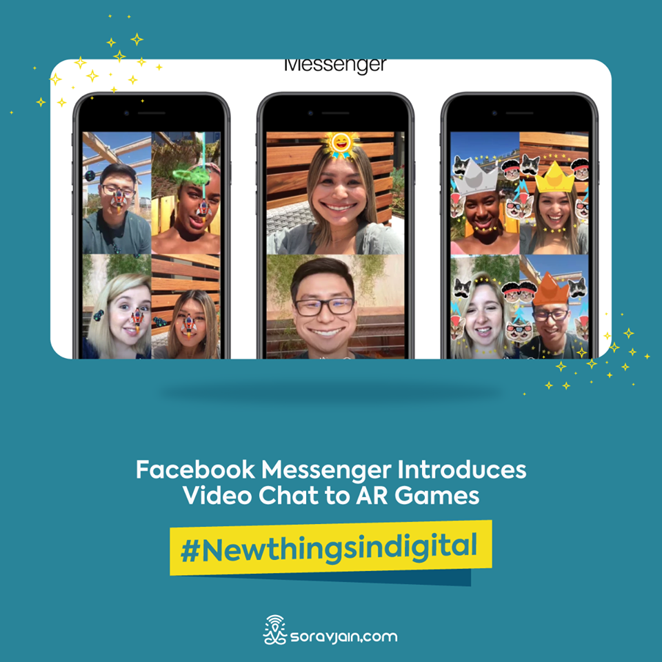 Facebook Messenger Introduces Video Chat To AR Games