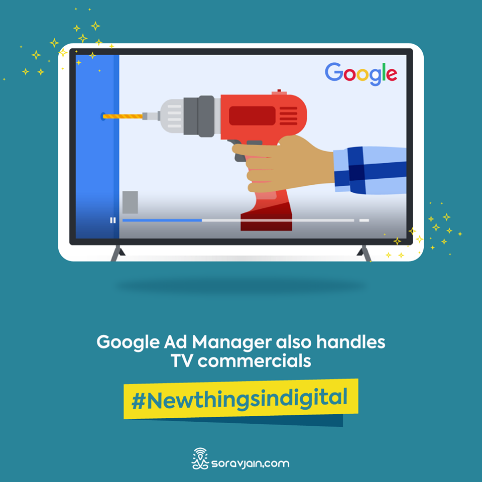 Google Ad Manager Also Handles TV Commercials