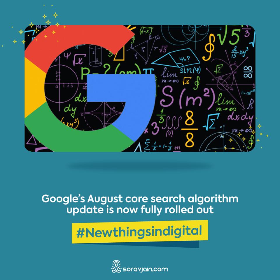 Google August Core Algorithm Update