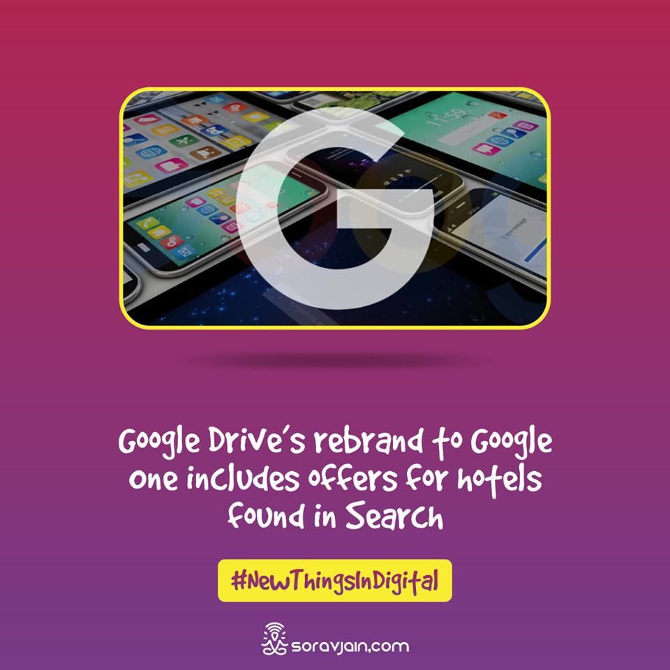 Google Drive's Rebrand To Google One