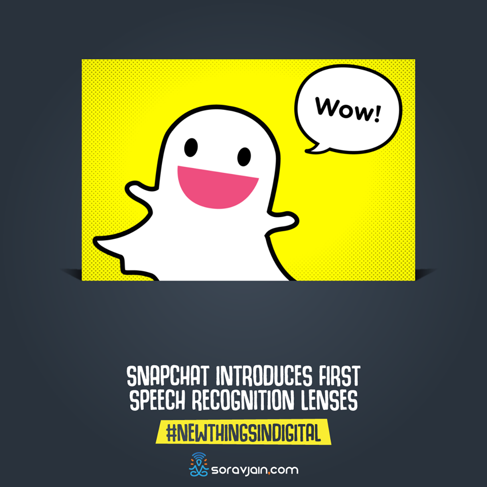 SnapChat Introduces First Speech Recognition Lenses