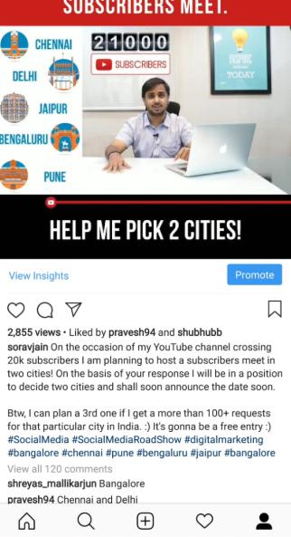 Sorav Jain YouTube Channel Subscriber's Meet