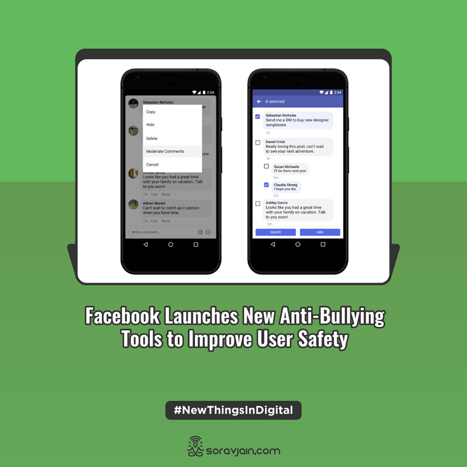 Facebook Launches New Anti-Bullying Tools to Improve User Safety