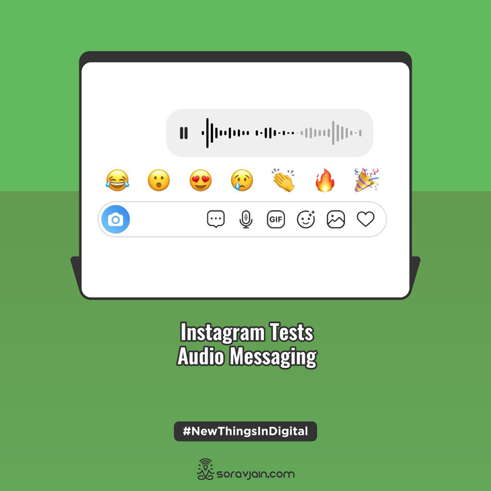Instagram Tests Audio Messaging