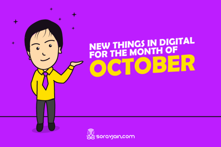 new things in digital in october