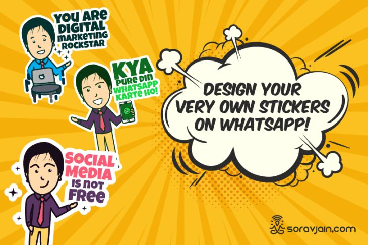 How To Create Customized Whatsapp Stickers in Just 5 Minutes