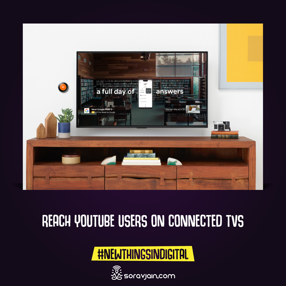 Reach YouTube users on connected TVs