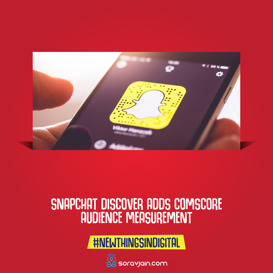 Snapchat Discover Adds Comscore Audience Measurement